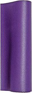 MeCan Faux Leather Fabric Sheet Solid PU Synthetic Leather Perfect for Earrings,Cricut,DIY Craft Projects,9''x53''(23x135cm) (Purple)