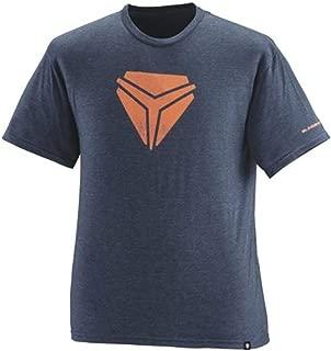 Polaris Slingshot Men's Vintage Shield Tee - Blue/Orange - Large