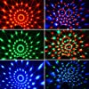 Mini Dj Disco Ball Party Stage Lights Sbolight Led 7Colors Effect Projector Karaoke Equipment for Stage Lighting With Remote Control Sound Activated for Dancing Christmas Gift KTV Bar Concert Birthday #1