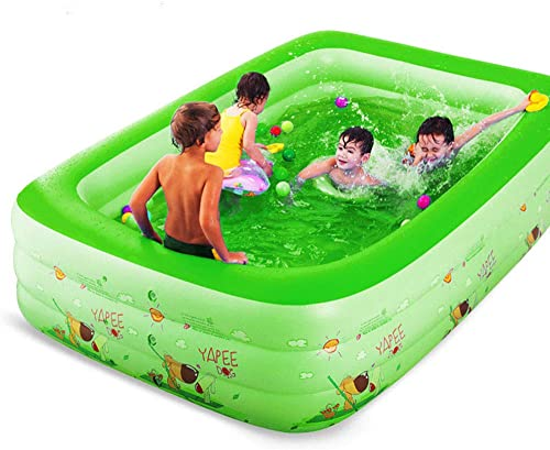 El nuevo outlet de marcas online. Swimming pool Piscina Inflable Gigante YUHAO(UK) – – – Piscina Rectangular Inflable para Familia y Niños  40% de descuento