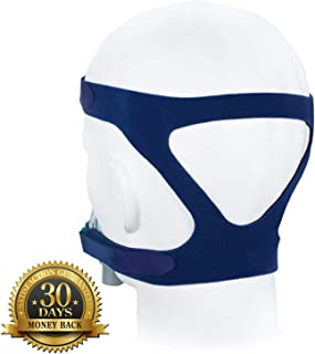 ZMC Universal Headgear Strap, Replacement Headband for Gel Full Face Mask, Standard Size: 60 * 16cm (Without Mask)
