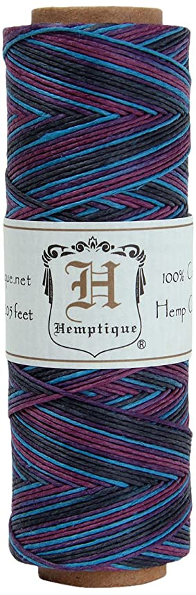 Hemptique Party Hemp Cord 10 pound test, .5mm thick