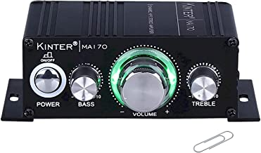 Kinter MA170 12V 2 Channel Mini Digital Audio Power Amplifier for Car or Mp3 Without Power Supply