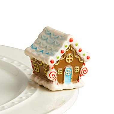 Nora Fleming Hand-Painted Mini: Candyland Lane (Gingerbread House) A218