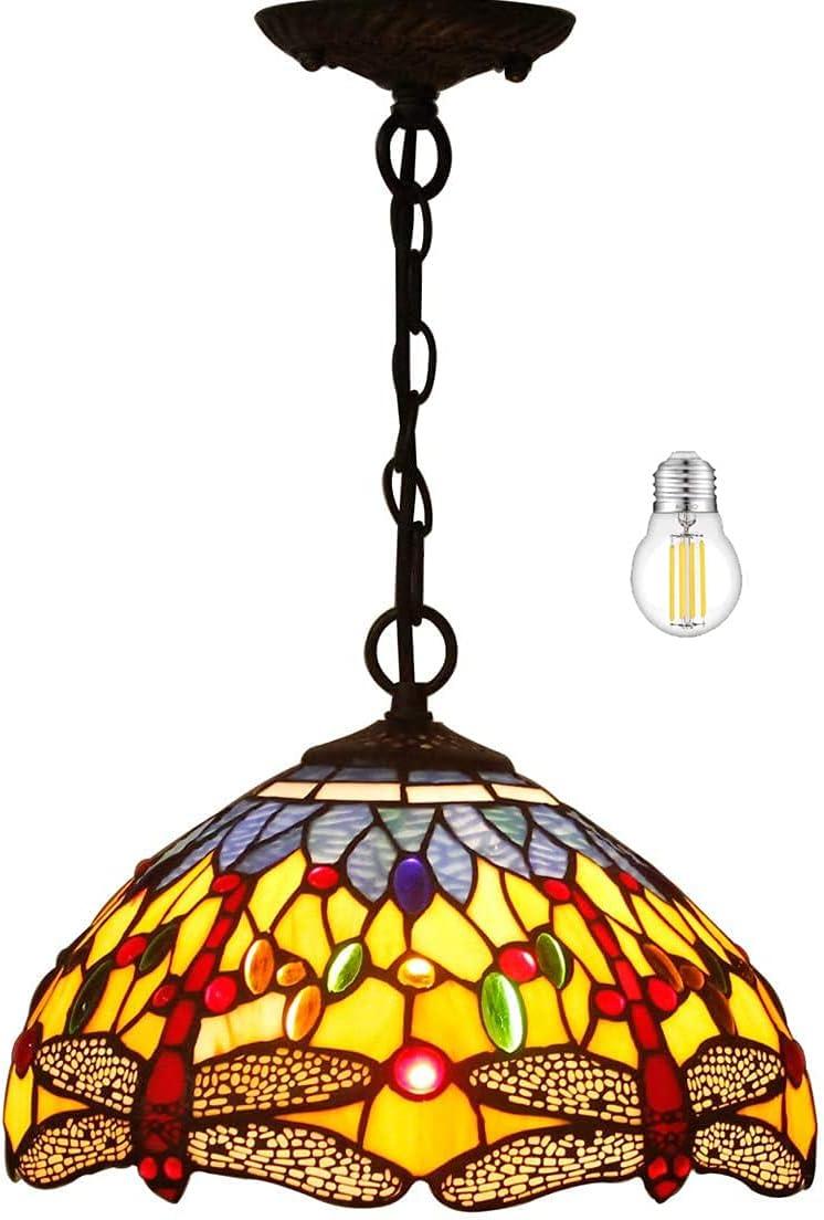 2021new shipping free Tiffany Pendant Lighting for Kitchen Oran Island Selling rankings Fixture 12