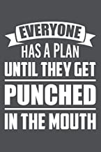 Everyone Has A Plan Until They Get Punched In The Mouth: Lined Journal Notebook