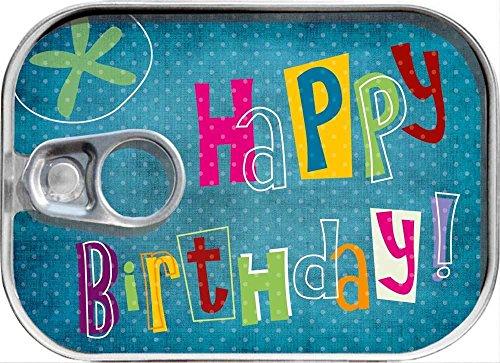 Dosenpost Geburtstag Glückwunschkarte Geldgeschenk Karte Geschenk Dose