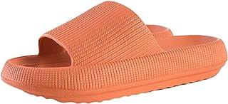 joyMerit Chaussures de Pantoufles à La Maison Unisexes Super Douces, Sandales de Douche Antidérapantes à Bout Ouvert