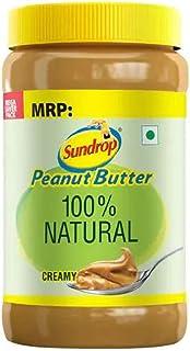 Agro Tech Foods Sundrop Peanut Butter 100% Natural-Creamy Jar 924 g
