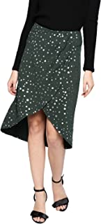 BESIVA Synthetic Pleated Skirt