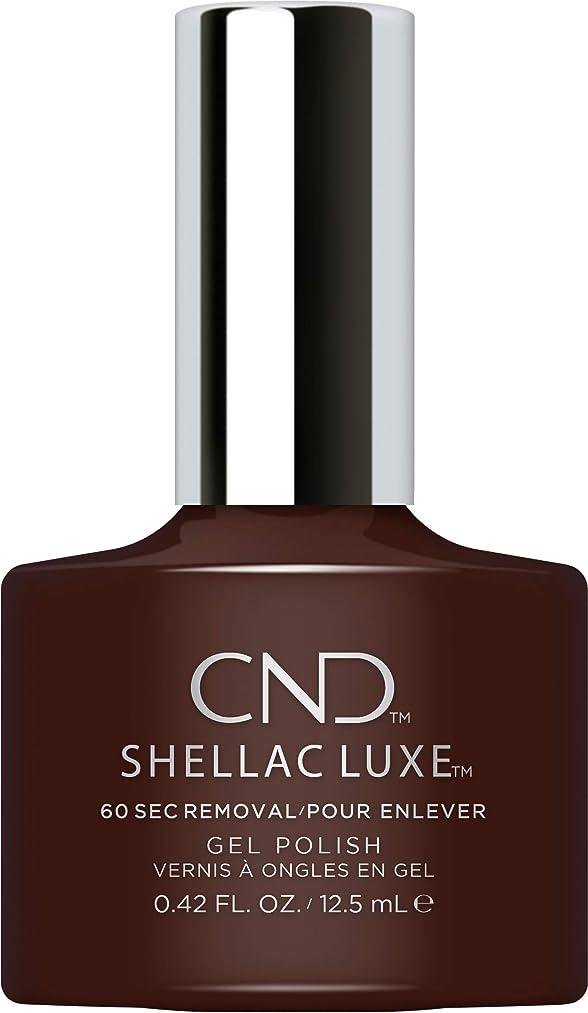 オーディション市民不注意CND Shellac Luxe - Fedora - 12.5 ml / 0.42 oz