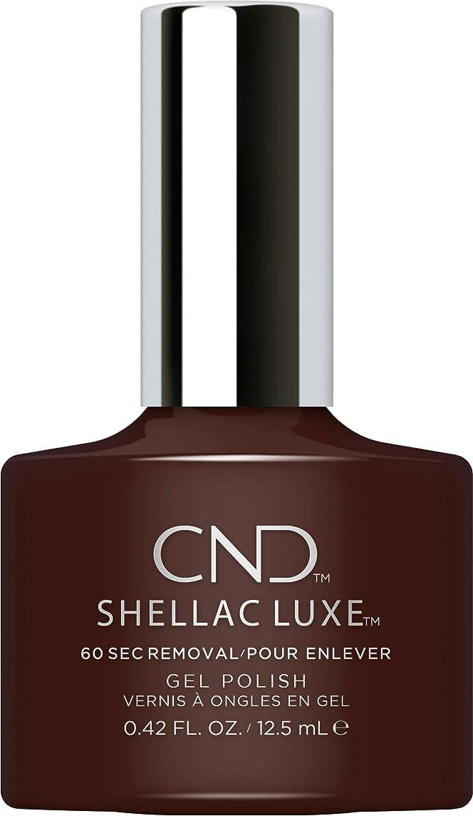 最終カウンターパート専門化するCND Shellac Luxe - Fedora - 12.5 ml / 0.42 oz