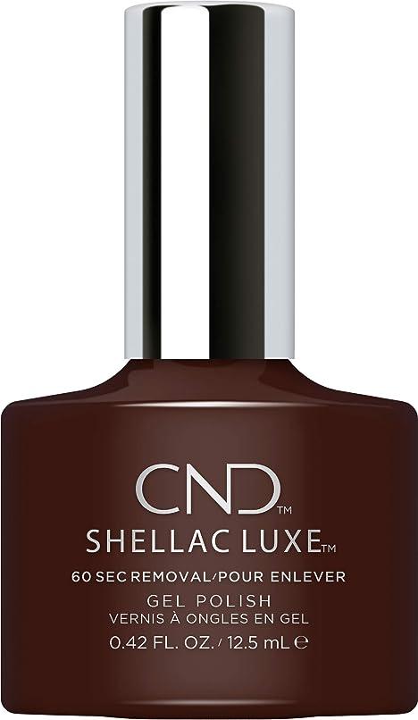 オンス攻撃不良CND Shellac Luxe - Fedora - 12.5 ml / 0.42 oz