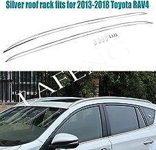 /à partir de 2013 Barres de Toit pour Ski//Snowboard en Aluminium 4 Paires de Skis Toyota Rav4 VDP Menabo Tema SUV//Break 5 Portes