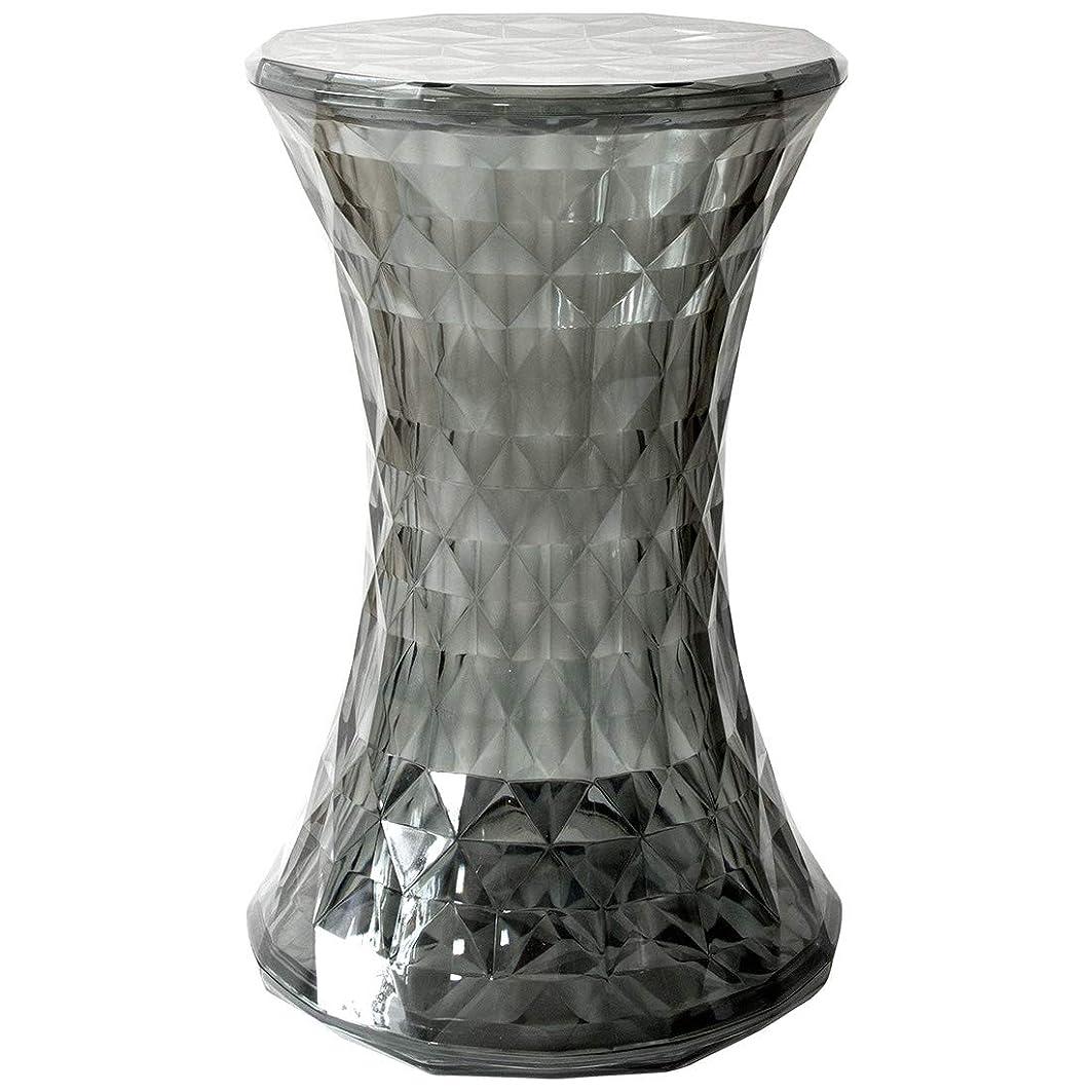 豊富チェスをする封建ストーンスツール ブラック 幅31×奥行き31×高さ46cm リプロダクト品 ジェネリック家具