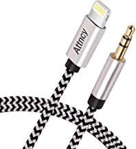 (Apple MFI Certified) Aux Cord Compatible with Phone, 3.5mm Male Stereo Audio Cable, Compatible with iOS 10.3, Phone X/8/8 Plus/7 Plus, Car Stereo/Speakers/Headphones