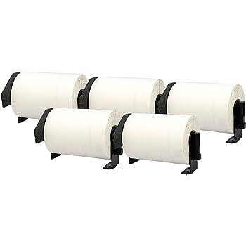102mm x 152mm 20 x DK11241 Etichette adesive compatibile per Brother P-Touch QL-1050 QL-1060N QL-1100 QL-1110NWB Etichette per Spedizioni 200 Etichetta per Rotolo
