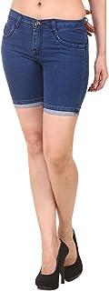 Jannon Blue Shorts for Women & Girl