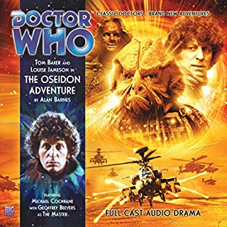 Doctor Who - The Oseidon Adventure cover art