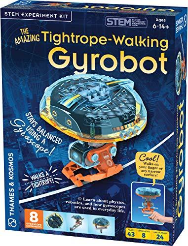 Thames & Kosmos Tightrope-Walking Gyrobot STEM Experiment
