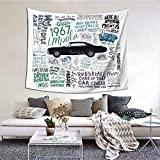 Supernatural Peach Tapestry Boutique Wall Tapestry Aesthetic Home Decoration 60x51inch