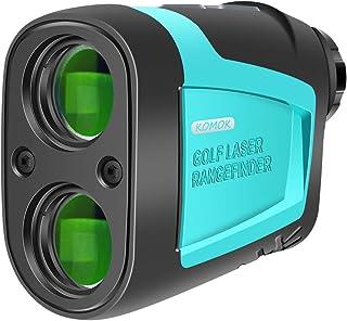 KOMOK High Precision Golf Laser Rangefinder,656 Yard Measuring Distance,6X HD Eye Lens with Slope,Range,Height,Flagpole,Speed Mode,FDA Approved