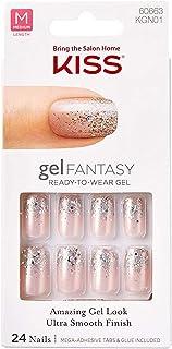 Kiss Gel Fantasy Nails - Rush Hour C, 1er Pack 1 x 24 Stück, farbe sortiert