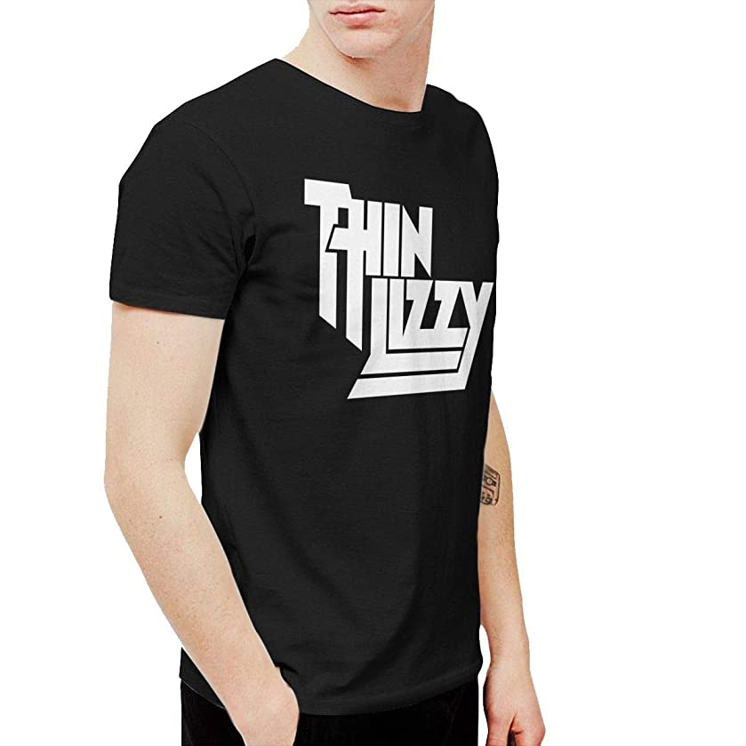 Geneva F Thin Lizzy Men's Short Sleeve T-Shirt Black