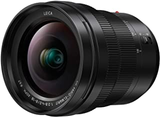PANASONIC LUMIX Professional 8-18mm Camera Lens, G LEICA DG VARIO-ELMARIT, F2.8-4.0 ASPH, Mirrorless Micro Four Thirds, H-E08018 (Black)