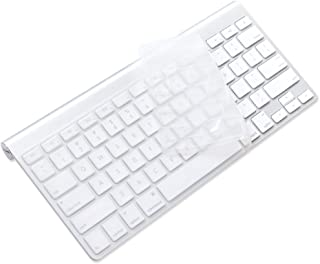 proelife 2017最新超薄型シリコンフルサイズワイヤレスBluetooth数値キーボードカバースキンfor for Wireless Keyboard (MC184LL/B)