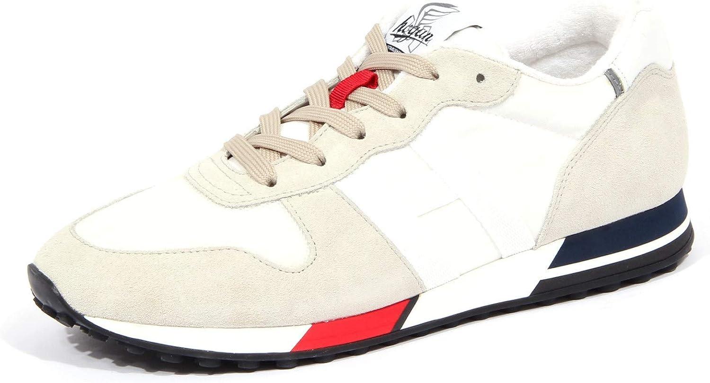 Hogan 4275J Sneaker Uomo Off White/Grey H383 Scarpe H86RUN Shoe ...