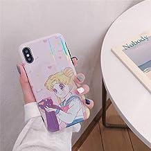 Sailor moon Anime Für iPhone 7//8 X//XS TPU Case Hülle Schutzhülle Backcover cover