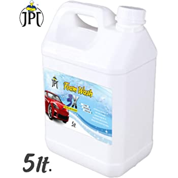 JPT CAR WASH FOAM SHAPOO WITH ADVANCE 3X FOAM FORMULA (5 LTR)