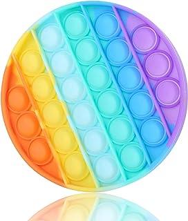 meeilii Jouets Anti-Stress Multicolore popite Fidget Toys Bubble Sensoriels à Presser Push Jouet Autisme Besoins spéciaux ...