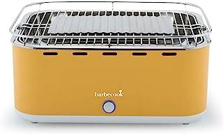 Barbecook Carlo Barbacoa de mesa portatil, Barbacoa de carbon, Amarillo, 44x33x21cm