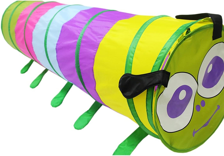 AN-JING Spielen Sie Zelt Kids Toddlers Pop Up Tent Tunnel für Indoor Outside Toys Diese