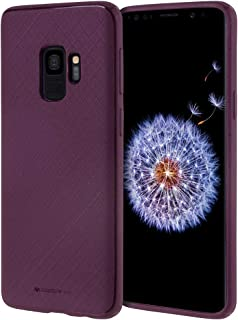 Goospery Style Lux Jelly for Samsung Galaxy S9 Case (2018) Thin Slim Bumper Cover (Purple) S9-STYL-PPL