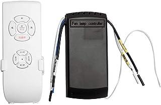 Kit de mando a distancia universal para ventilador de techo + control remoto inalámbrico de tiempo, puede penetrar en la pared