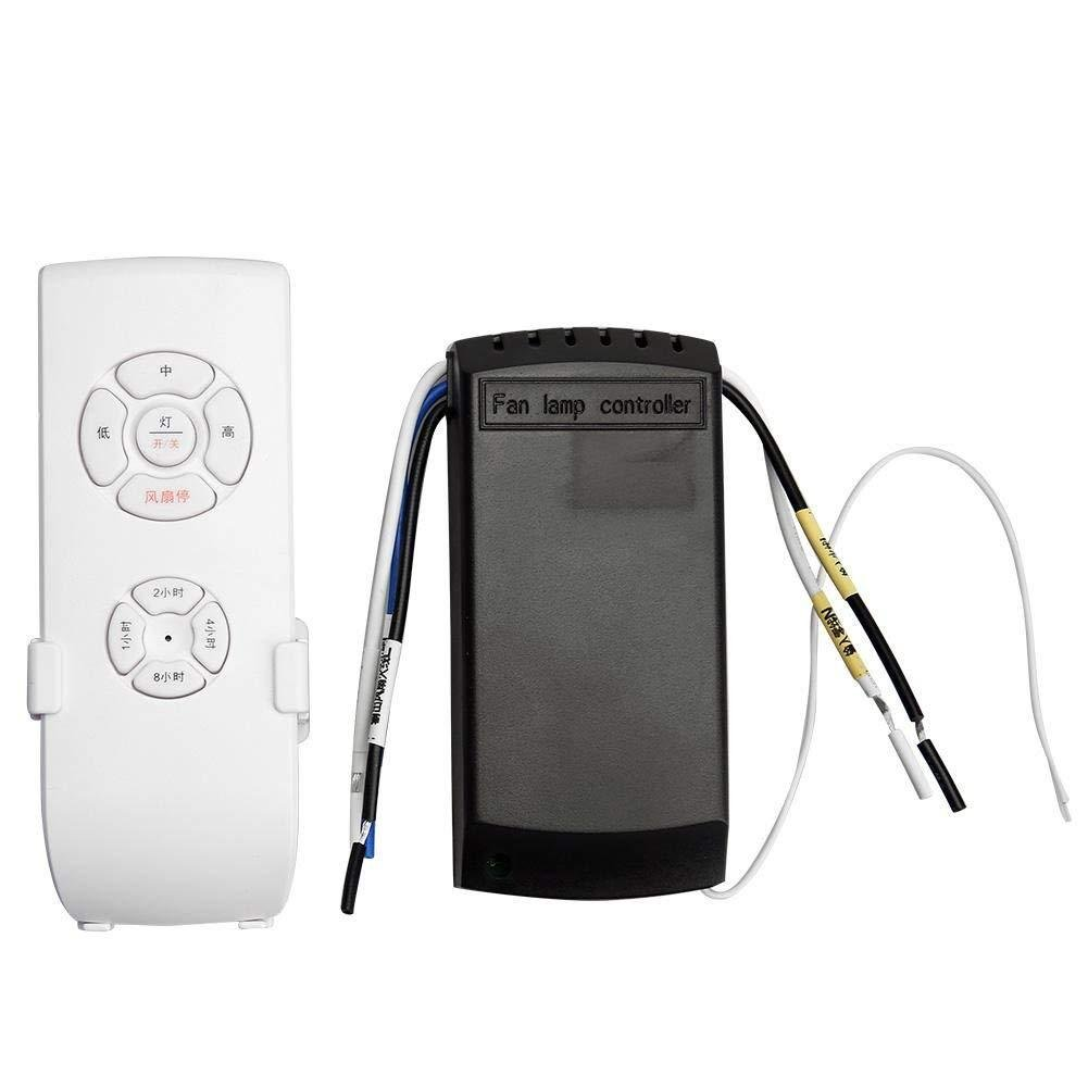 Kit de mando a distancia universal para ventilador de techo + ...