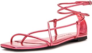 Katy Perry Women's The Luv Flat Sandal, OASIS PINK, 5.5
