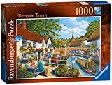 Ravensburger Waterside Tavern Jigsaw Puzzles 1000 Pieces for Adults and Kids Age 12 Years Up
