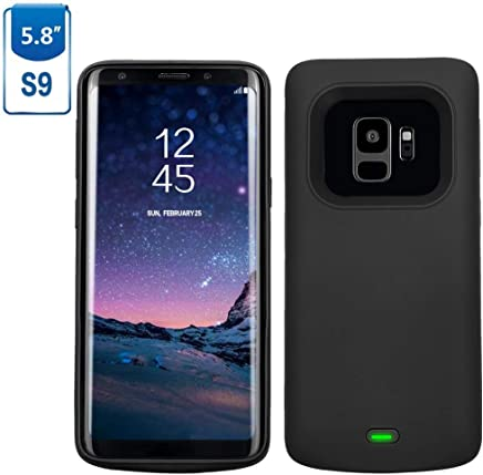 Galaxy S9 Battery Case, Mbuynow 4700mAH Portable Charger Case External Charging Case Rechargeable Protective Power Case for Samsung Galaxy S9