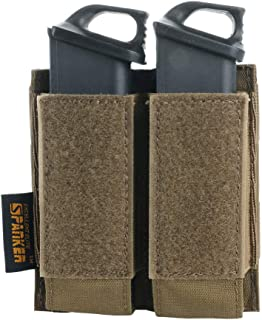 EXCELLENT ELITE SPANKER Tactical Open Top Double/Triple Pistol Mag Pouch for Glock M1911 92F Magazines 40mm Grenade