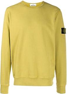 STONE ISLAND Luxury Fashion Mens 711562720V0034 Yellow Sweatshirt | Fall Winter 19