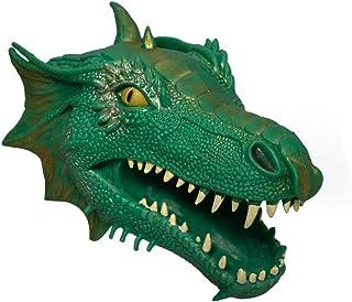 ScienceGeek 青竜ハンドパペット ティラノサウルス 動物ごっこ遊び 手踊り 人形劇 知育玩具 小道具 アニマル