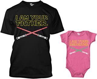 I Am Your Father/I Am Your Son Matching Bodysuit & Men's T-Shirt