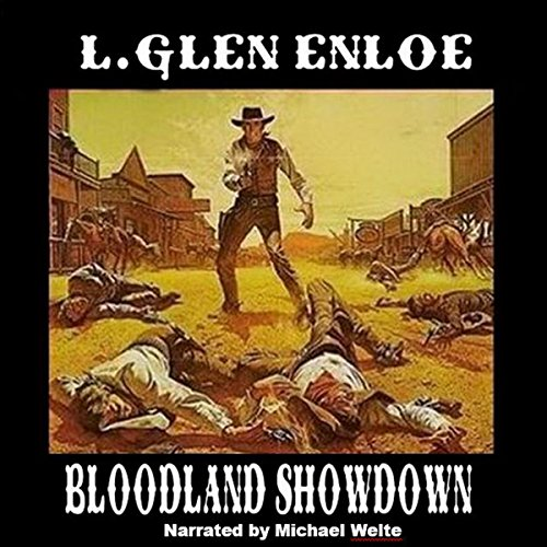 Bloodland Showdown audiobook cover art