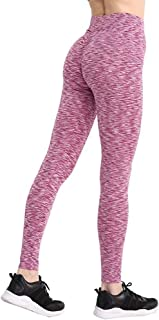 Mujeres Entrenamiento Poliéster Jeggings S-XL 3 Colores Casual Push Up Leggings Transpirable Delgado Leggings Mujer (Color : Red, Size : XL)