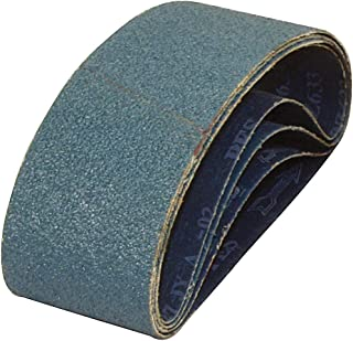36 Grit Zirconia Alumina Z Pack of 10 PFERD 49696 Abrasive File Belt 24 Length x 1//4 Width