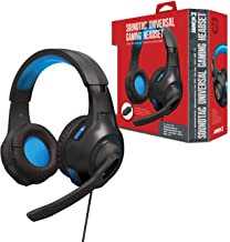 """Armor3 """"Soundtac"""" Universal Gaming Headset (Blue) for Xbox Series X/ Xbox Series S/ Nintendo Switch/ Lite/ PS4/ PS5/ Xbox ..."""